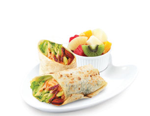 Vegelicious Tortilla Wrap - Kenny Rogers Roasters