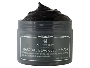 Annie's Way Charcoal Black Jelly Mask - MaskSlim