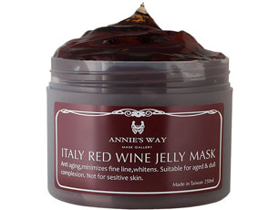 Annie's Way Italy Red Wine Jelly Mask - MaskSlim
