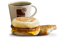 Sausage McMuffin - McDonald's