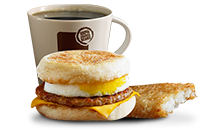 Sausage McMuffin with Egg - McDonald's