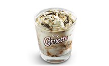 Cornetto McFlurry (Chocolate/Strawberry) - McDonald's