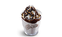 Cornetto Sundae (Chocolate / Strawberry) - McDonald's