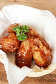 Hubert's Barbecue Chicken Wings - Nanny's Pavillon