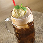 A&W Sarsaparilla Float - OldTown White Coffee