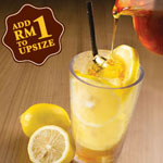 Honey Lemon Juice (Hot or Cold) - OldTown White Coffee