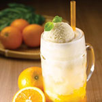 Orange Fizzy Float - OldTown White Coffee