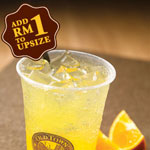 Orange Fizzy - OldTown White Coffee