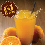 Orange Juice - OldTown White Coffee