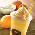Orange Yogurt Smoothie - OldTown White Coffee
