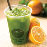 Organic Spirulina Orange Juice - OldTown White Coffee