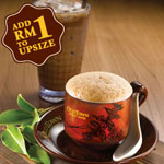 White Milk Tea (Hot or Cold) - OldTown White Coffee