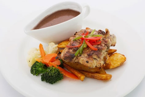 Grilled Chicken Chop - Puffy Buffy