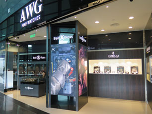 AWG Fine Watches at KLIA2