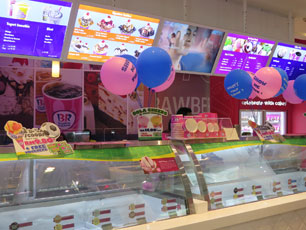 Baskin Robbins at Level 3, Gateway@KLIA2
