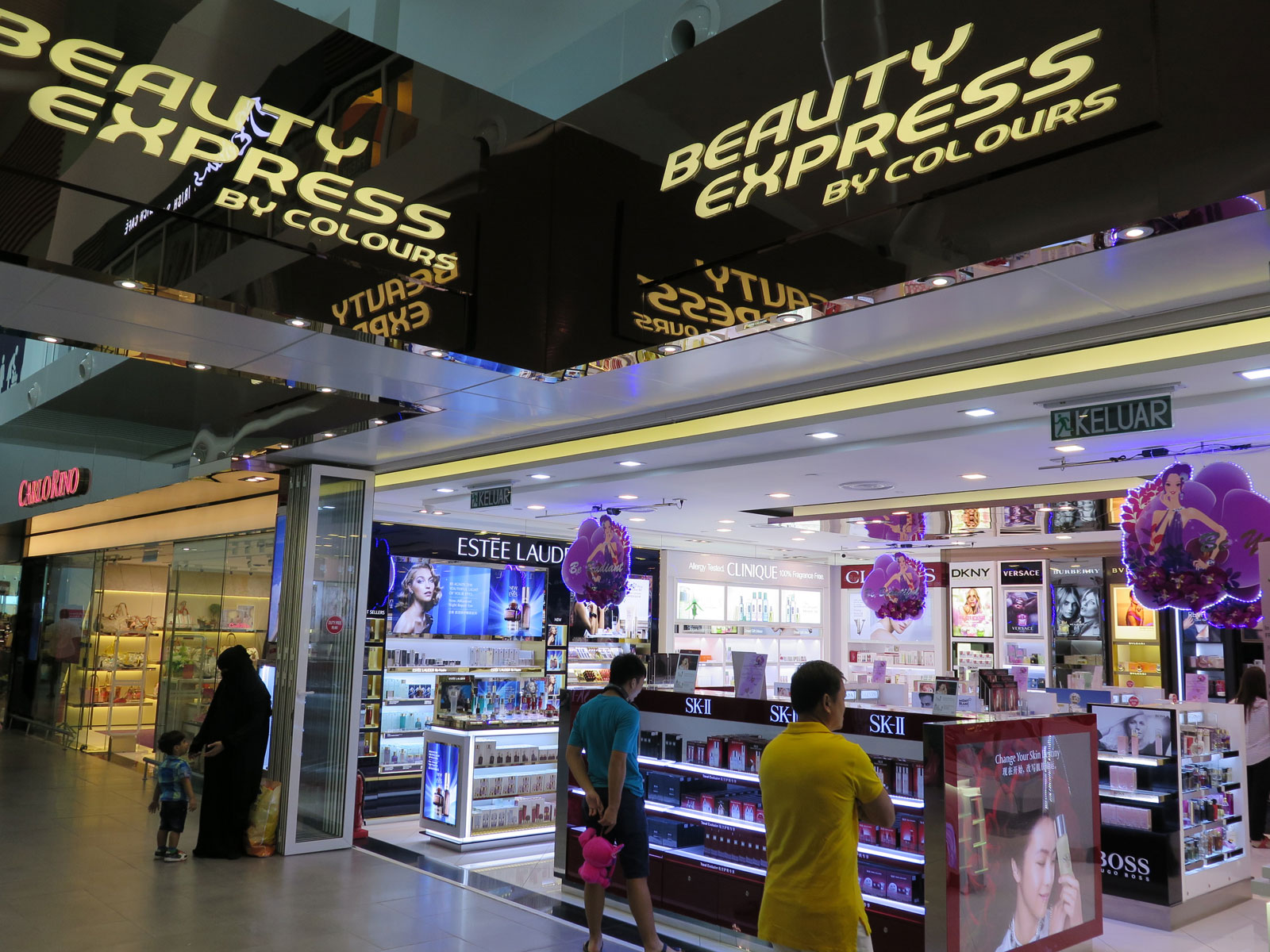 Beauty Express Departure Hall KLIA2 Main Terminal Building