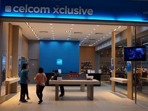 Celcom Xclusive, Level 2, Gateway@KLIA2