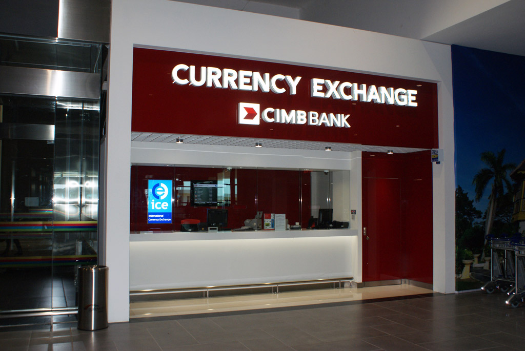 Banks and Currency Exchange Counters | Malaysia KLIA2 - Kuala Lumpur International Airport 2 info