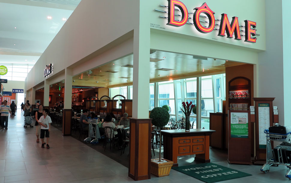 Dome Cafe, KLIA2