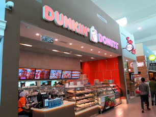 Dunkin' Donuts, Departure Hall, KLIA2 Main Terminal Building
