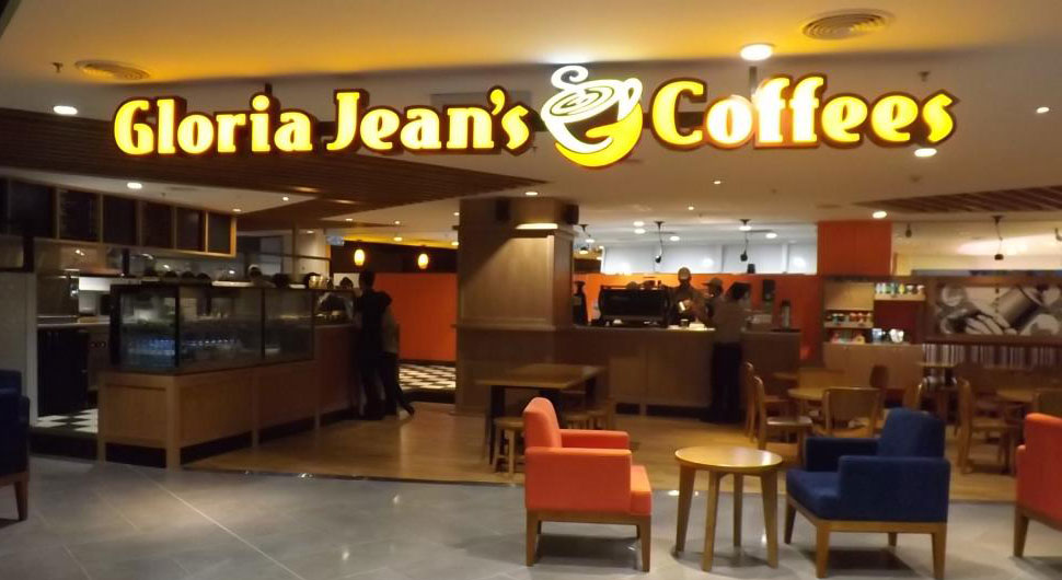 Gloria Jean's Coffees, klia2