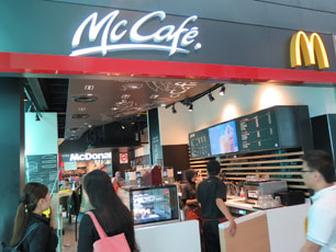 McCafe at KLIA2