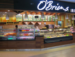 O'Briens, Departure Hall, KLIA2 Main Terminal Building