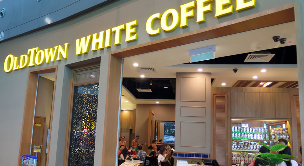 OldTown White Coffee, KLIA2