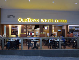 OldTown White Coffee at KLIA2