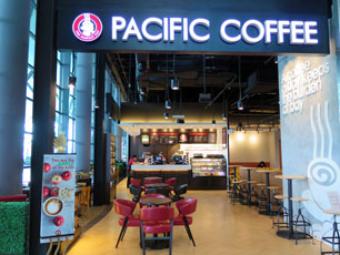 Pacific Coffee at KLIA2