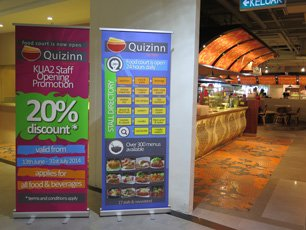 Quizinn by RASA Food Court at KLIA2