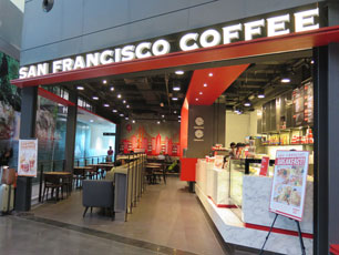 San Francisco Coffee at KLIA2