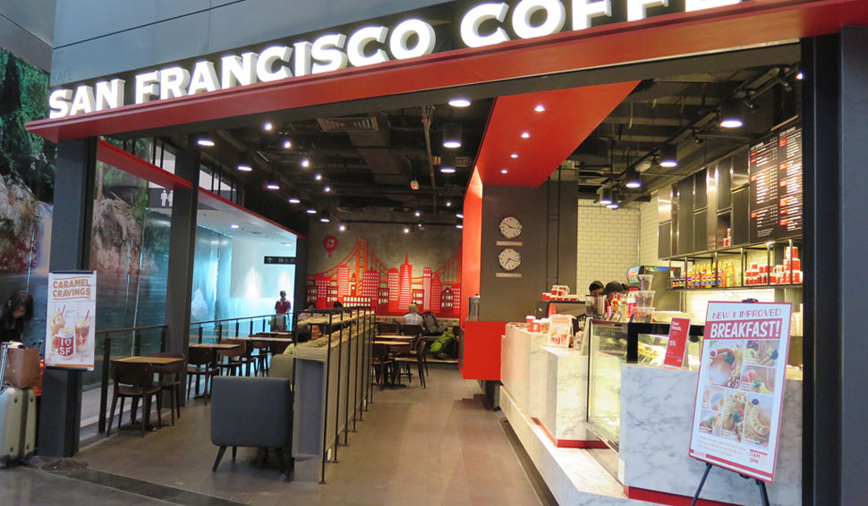 San Francisco Coffee, KLIA2