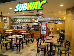 Subway at KLIA2