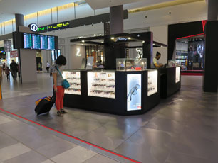 Sunglass Hut at KLIA2