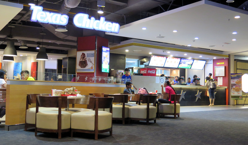 Texas Chicken, KLIA2