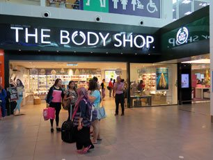 The Body Shop at KLIA2