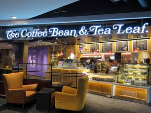 The Coffee Bean & Tea Leaf at KLIA2