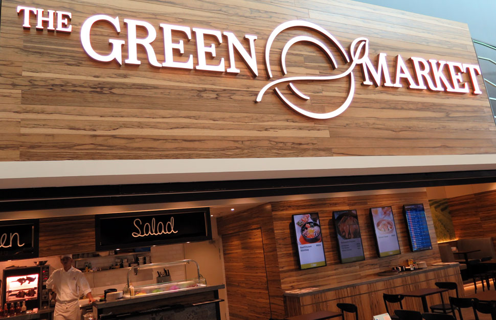 The Green Market, klia2