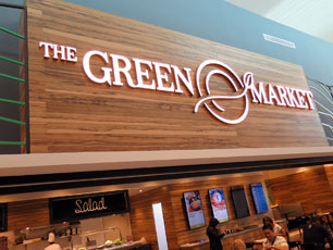 The Green Market, Departure Hall, KLIA2 Main Terminal Building