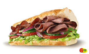 Roast Beef - Subway