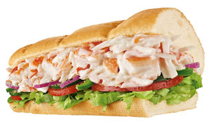 Seafood Crab - Subway
