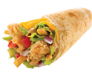 Mexicana Wrap - Texas Chicken