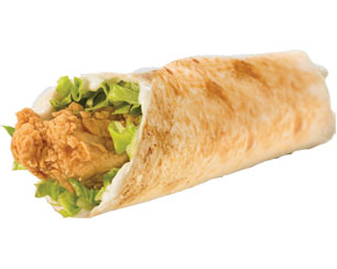 Tender Wrap - Texas Chicken