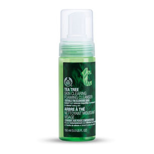 Tea Tree Clearing Foaming Facial Cleanser - The Body Shop
