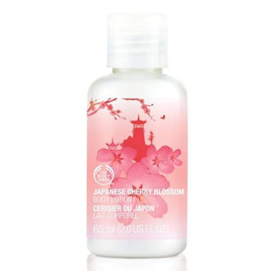 Voyage Japanese Cherry Blossom Body Lotion - The Body Shop