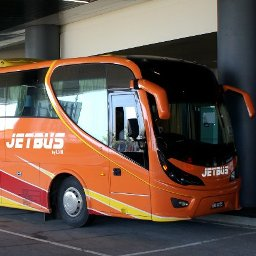 Jetbus, shuttle buses from klia2 to Terminal Bersepadu Selatan (TBS) at Bandar Tasik Selatan for just RM11