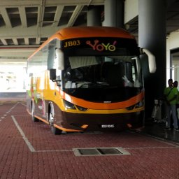 Yoyo Bus, buses from klia2 / KLIA to Ipoh, Taiping, Yong Peng and Johor Bahru