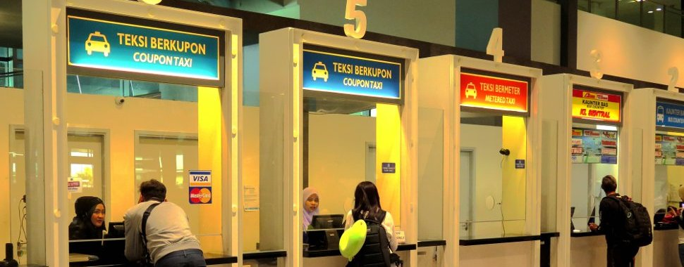 Check taxi fare at klia2 airport