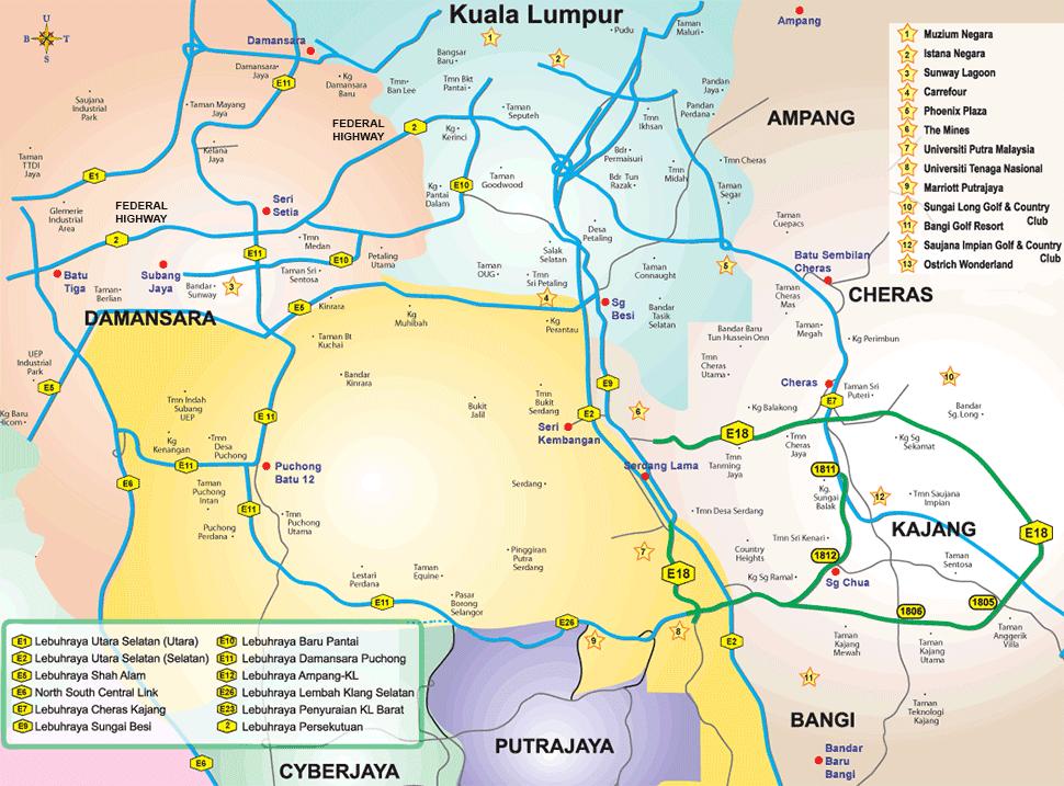 federal highway  u2013 klia2 info